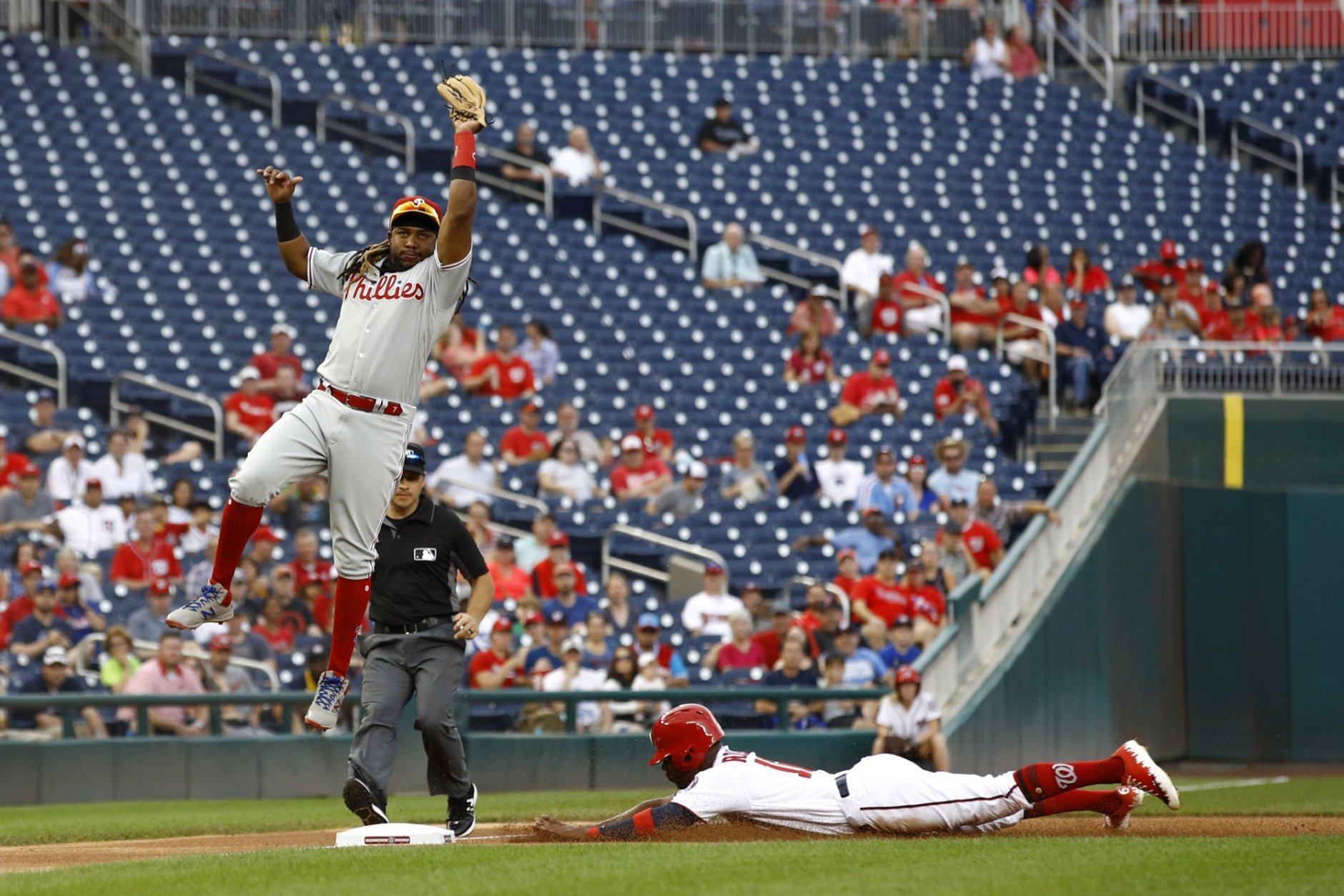 Maikel Franco, Victor Robles