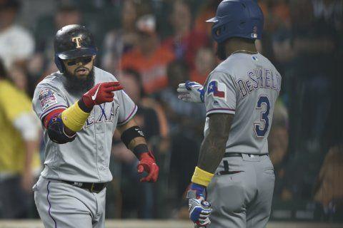 Odor HR in 6-run 1st inning, Rangers beat Orioles 9-4