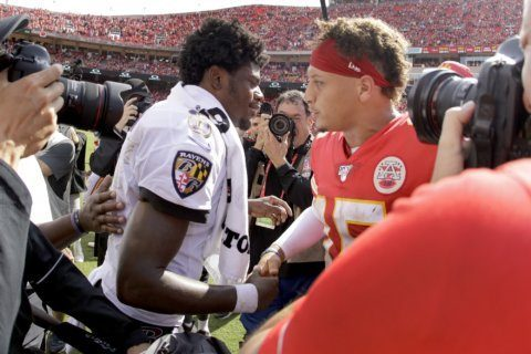 Harbaugh gets second-guessed after Ravens' first loss