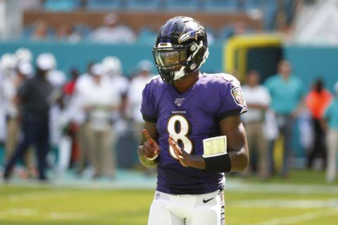 Ravens off to record-setting start behind Jackson