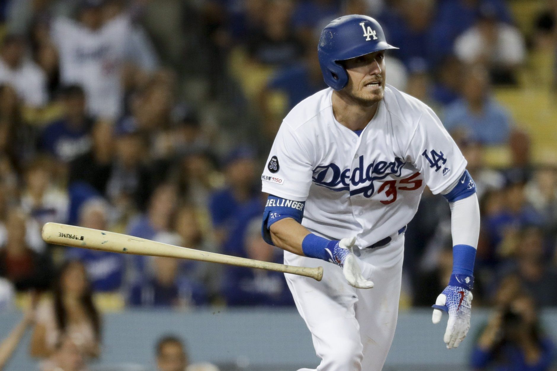 <p><strong>National League MVP</strong></p> <p>Cody Bellinger: 100</p> <p>Christian Yelich: 97.68</p> <p>Anthony Rendon: 92.81</p> <p>Ronald Acuña: 89.95</p> <p>Pete Alonso: 88.39</p> <p>Much like Strasburg, if these awards included the postseason, Anthony Rendon might have run away with this one. But after a torrid August and early September, he really struggled down the stretch of the regular season hitting just .185 with two home runs his final 20 games. That was enough that, despite Christian Yelich's season-ending injury, he wasn't able to close ground in the model. Rendon won the RBI race, but ceded the batting title to Yelich, all while Bellinger righted the ship over the season's final two weeks, and took home a Gold Glove to boot. This one could still be very close at the top, as injuries are always tough to weigh. But the model likes Bellinger.</p>
