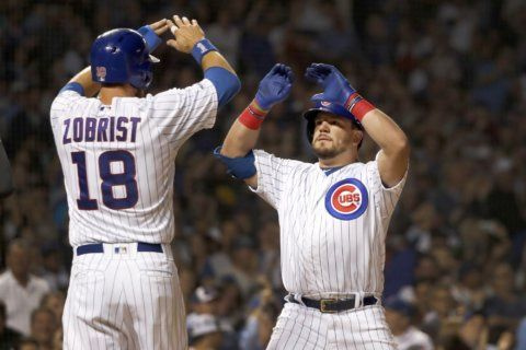 Schwarber homers as Cubs beat Reds 8-2