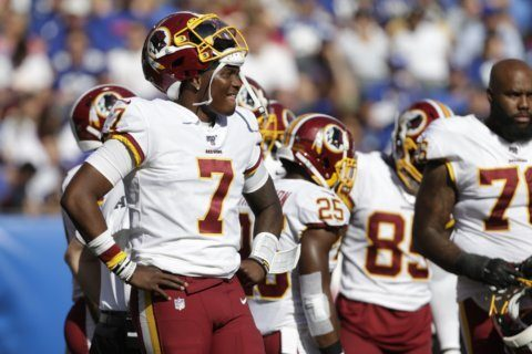 Nothing going right for 0-4 Redskins with Patriots up next