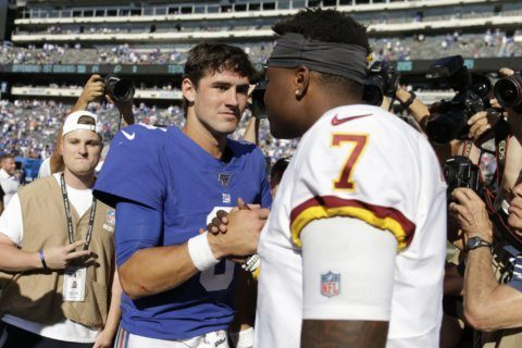 Rough way to face Patriots: Skins haven't picked starting QB