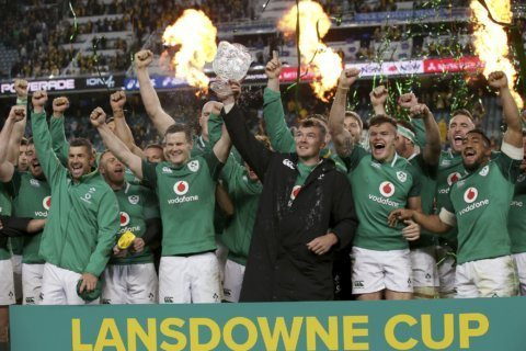 Top-ranked Irish have eyes on the prize at Rugby World Cup
