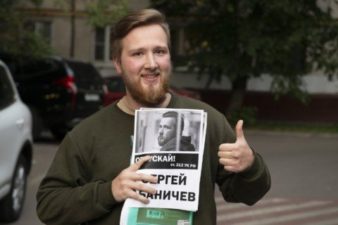 Jailed Russian protester speaks after surprise release