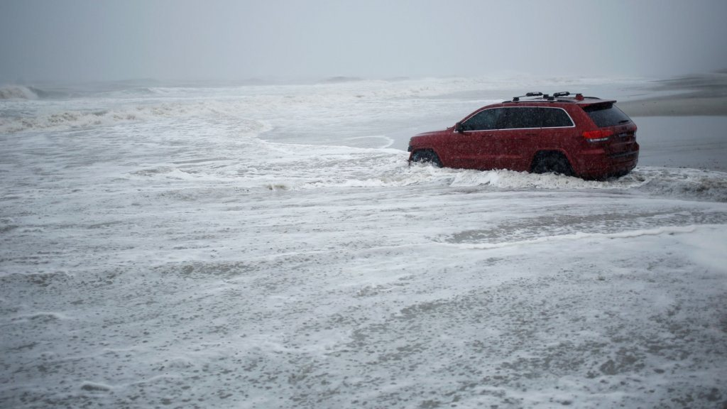 Owner of the Jeep abandoned in the surf on Myrtle Beach