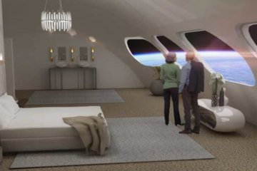 Designs revealed for incredible new space hotel