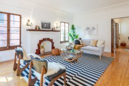 This two-bedroom apartment in Echo Park sold as part of a four-unit tennancy in common sale for $875,000.