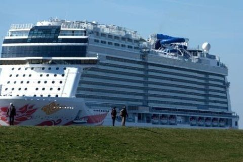 Feeding the largest cruise ships in the world