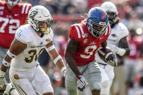 Ole Miss freshman Jerrion Ealy making immediate impact
