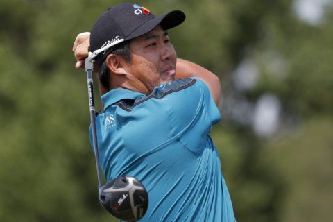 Byeong Hun An leads storm-delayed Mississippi tour event