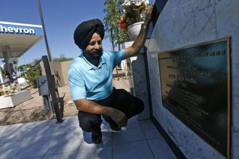 Sikh preaches love 18 years after brother killed over turban