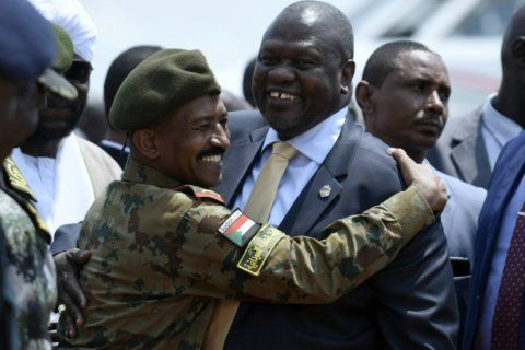 South Sudan opposition leader makes return visit to capital