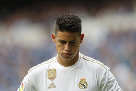 James Rodríguez gets 2nd chance after return to Real Madrid