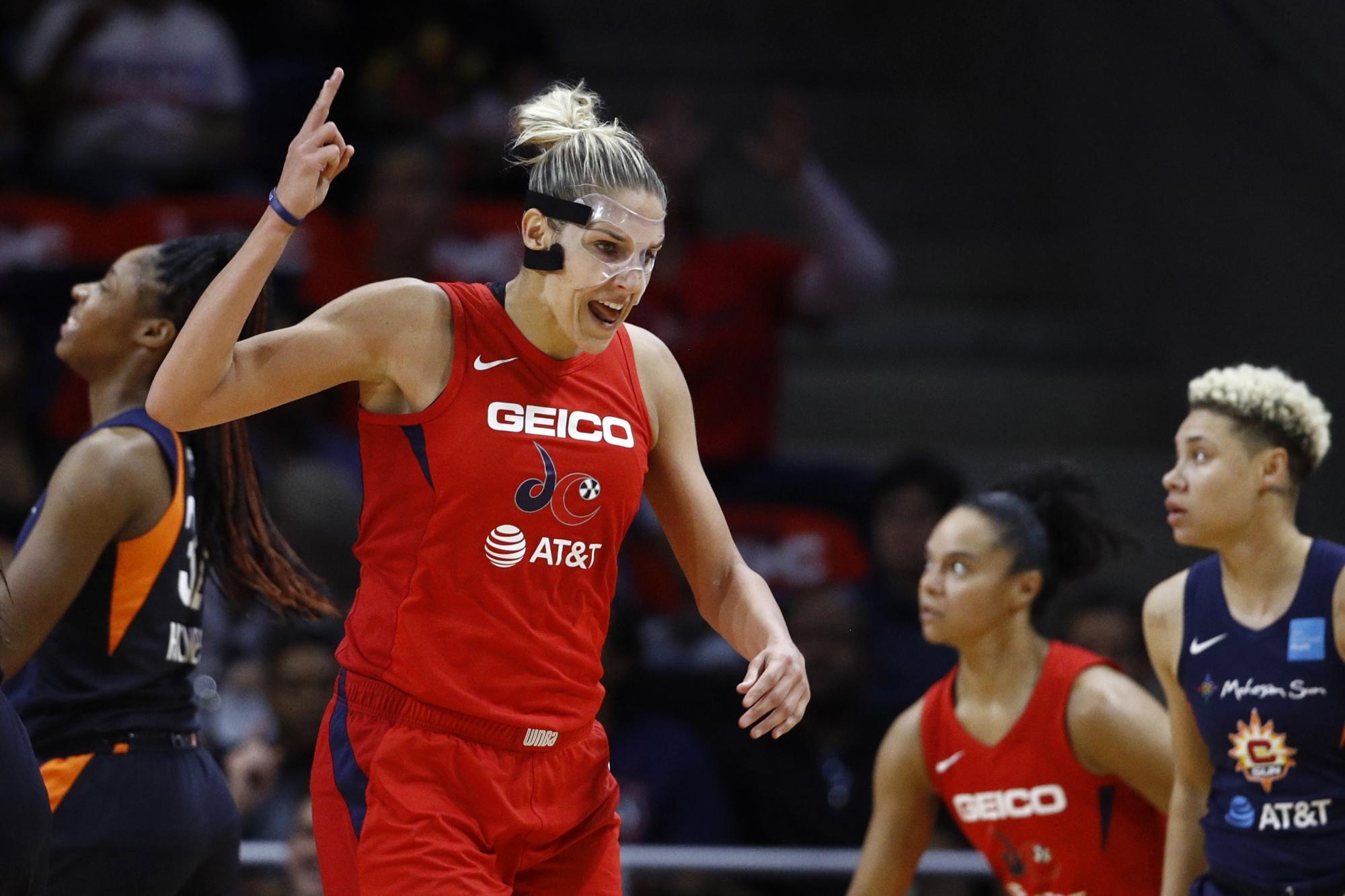 Washington Mystics lose to Connecticut Sun tying WNBA Finals 1-1