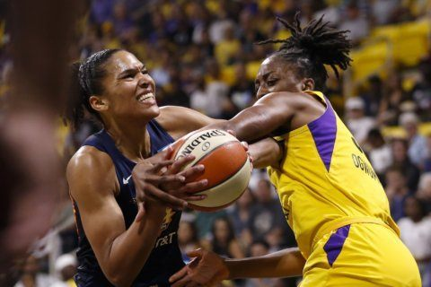 Connecticut Sun rout Sparks in sweep of WNBA semifinals