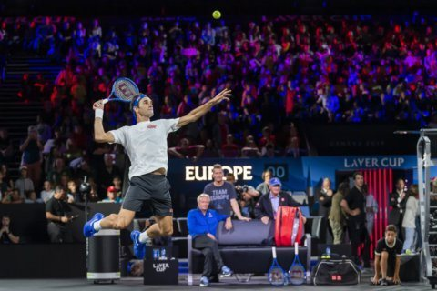 Federer, McEnroe push for Laver Cup's place in team tennis