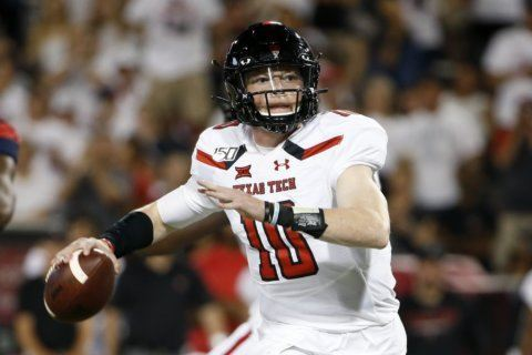 Texas Tech QB Bowman will miss games with shoulder injury