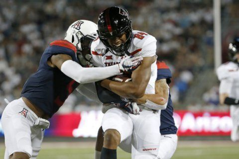 Arizona grinds out 28-14 win over Texas Tech