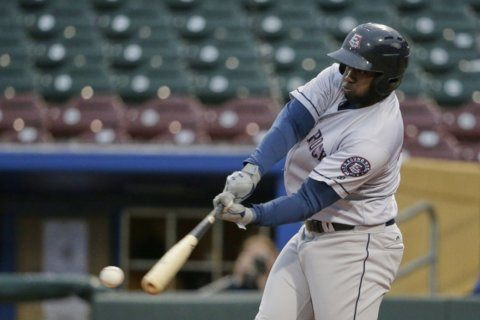 Homers surge 58% at Triple-A with switch to big league ball