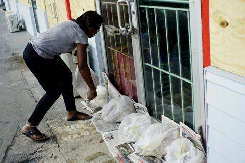 PHOTOS: Dorian makes landfall in the Bahamas