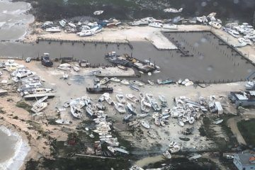 WATCH: Aerial footage shows devastation in the Bahamas