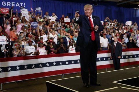 AP FACT CHECK: Trump glosses over US pain from trade war