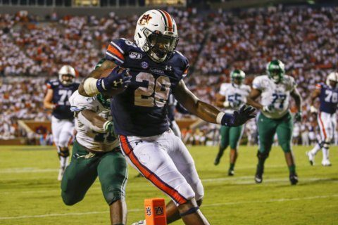No. 8 Auburn focused on Kent State, not looking ahead