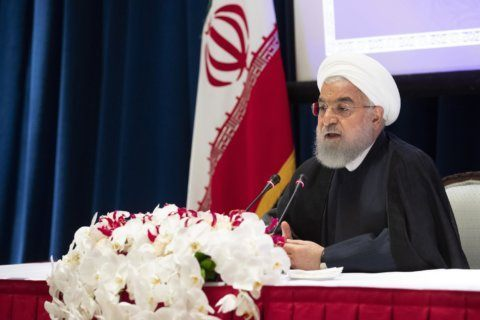 Trump says he called off Rouhani meeting, not Iran