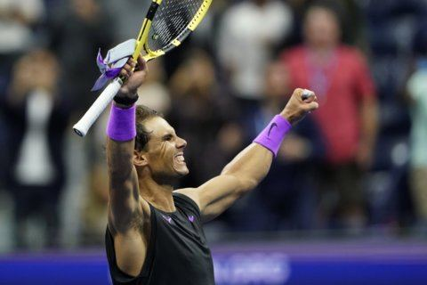 Nadal one win away from getting to 19 majors, closing gap on Federer