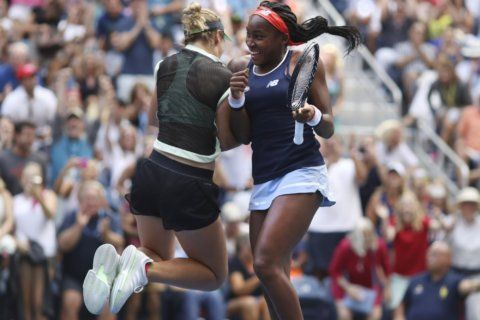 Team McCoco acing US Open doubles, but not music history