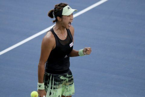 The Latest: Djokovic out of US Open after retiring in match