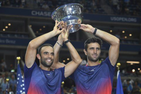 The Latest: Nadal beats Berrettini to reach US Open final