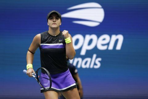 Andreescu's 1st Slam title at US Open prevents Serena's 24th