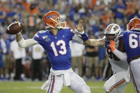 No. 9 Florida, Kentucky look for strong start in SEC opener