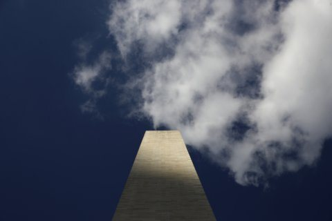 Elevator down: Visitors stuck atop newly reopened Washington Monument
