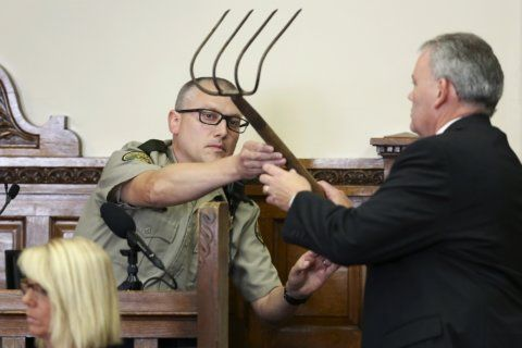 Lawyer: Man charged with corn rake killing irate over affair