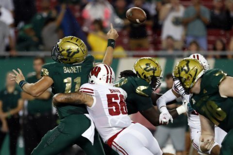 Zack Baun emerging as leader for stout Wisconsin defense