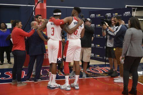 Without Wall, Beal insists most pressure comes from within