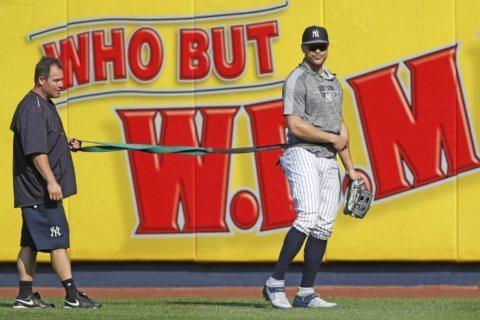 Yankees get Stanton back on cusp of clinching AL East