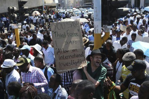 Zimbabwe doctor is found alive after alleged abduction