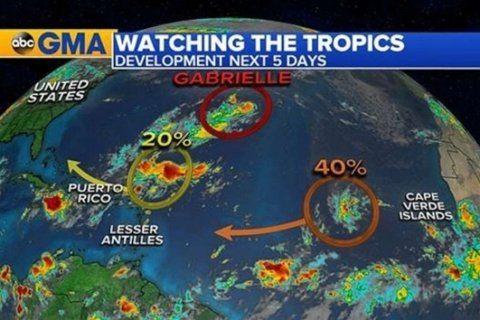 Tropics remain active ahead of peak hurricane season, heat returns to South