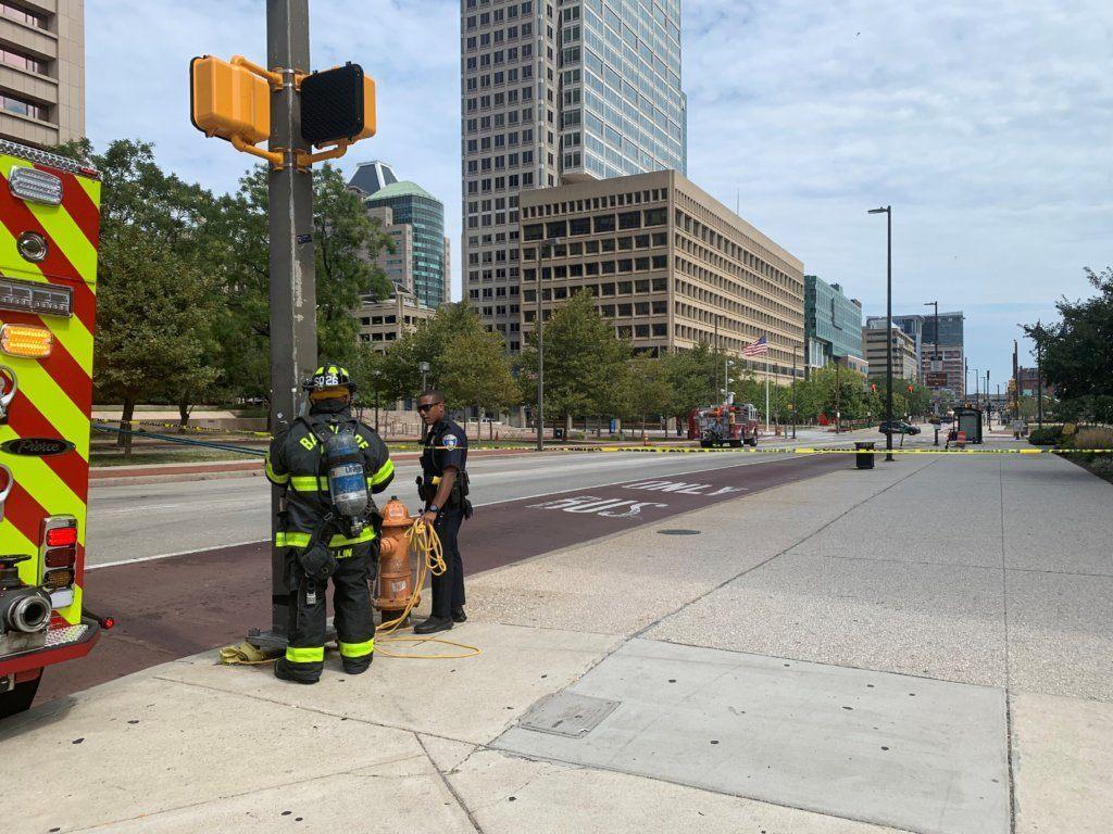 Baltimore police: Suspicious van was part of fuel-stealing