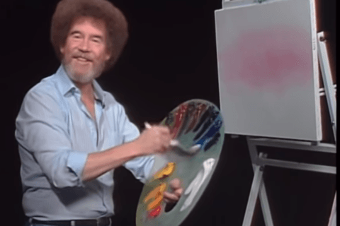 'Happy Accidents': Exhibit of Bob Ross paintings set to open in Virginia