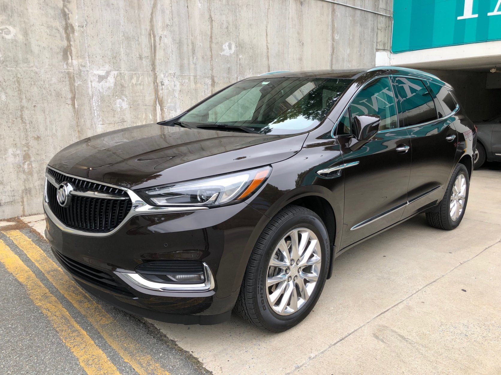 <h2><strong>Buick Enclave Premium</strong></h2> <p><strong>Price as driven: </strong>$55,735</p> <p>The redesigned Buick Enclave is big step up from the first generation model that was around for a decade. Space is the three-row Enclave's biggest asset; the cabin is huge.</p>