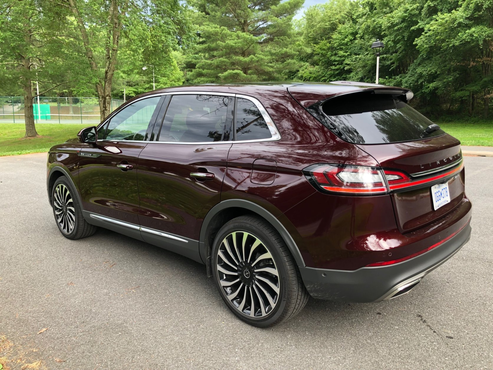 <p>The powerful optional twin-turbo V6 brings the SUV to life.</p>