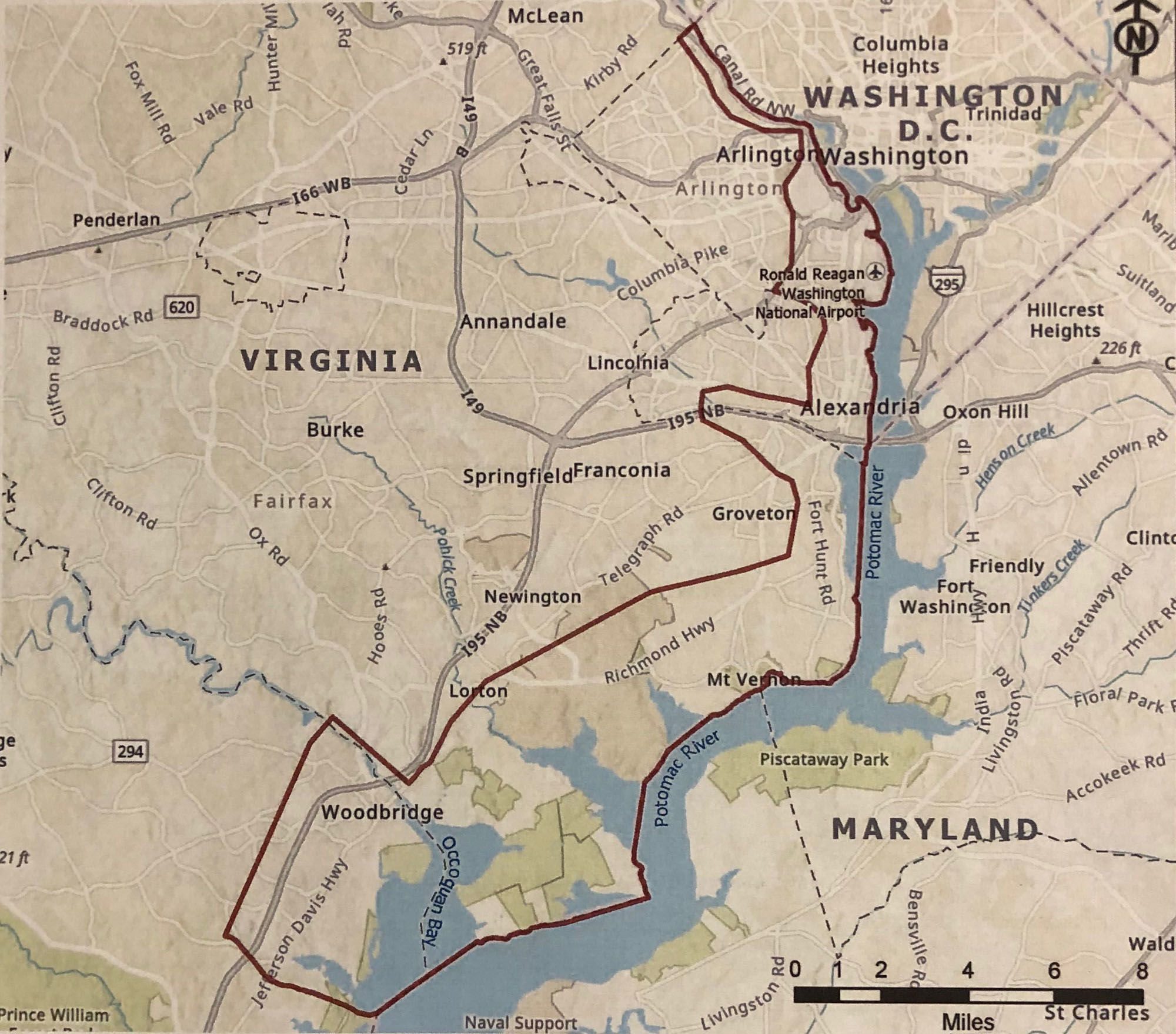 Westlake Legal Group coastal_flood_3 Study will take a long, hard look at threat of flooding in Northern Virginia virginia news Local News Latest News George Washington Memorial Parkway Flooding Fairfax County, VA News dick uliano coastal floods Alexandria, VA News
