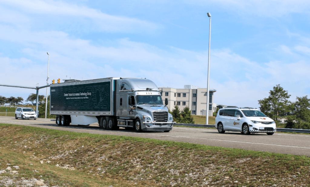 self-driving truck daimler