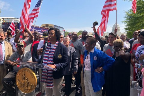 'Storm the House': DC officials, veterans rally ahead of statehood hearing